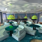 Кафе в яхт-клубе.